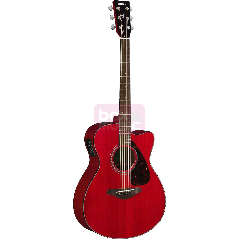 Yamaha FSX800C RR Ruby Red elektrisch-akoestische westerngitaar