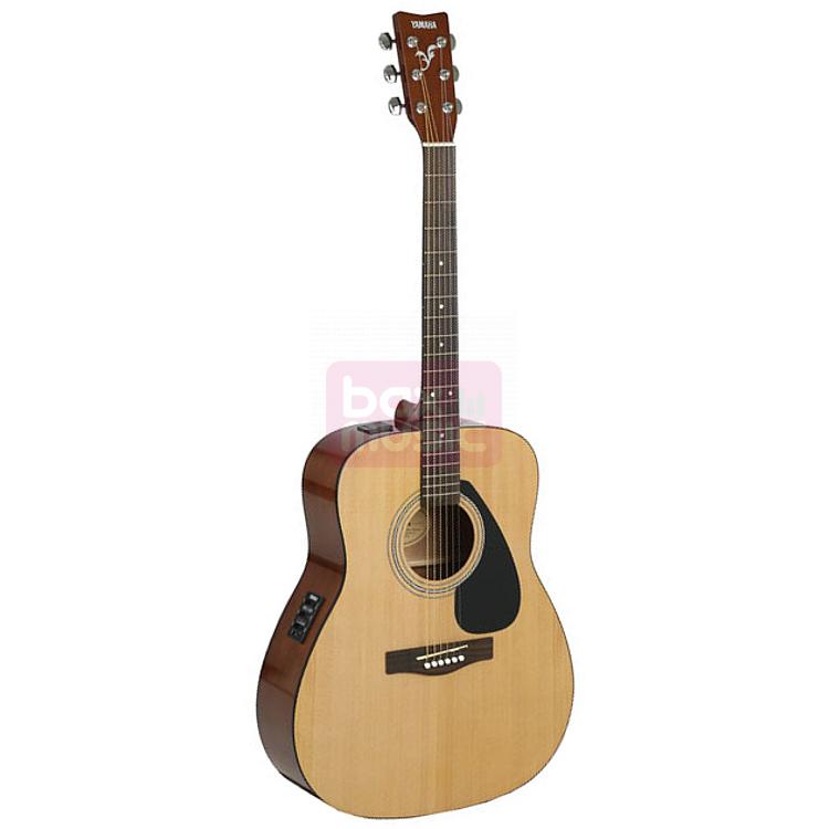 Yamaha FX310A elektrisch-akoestische folk gitaar naturel