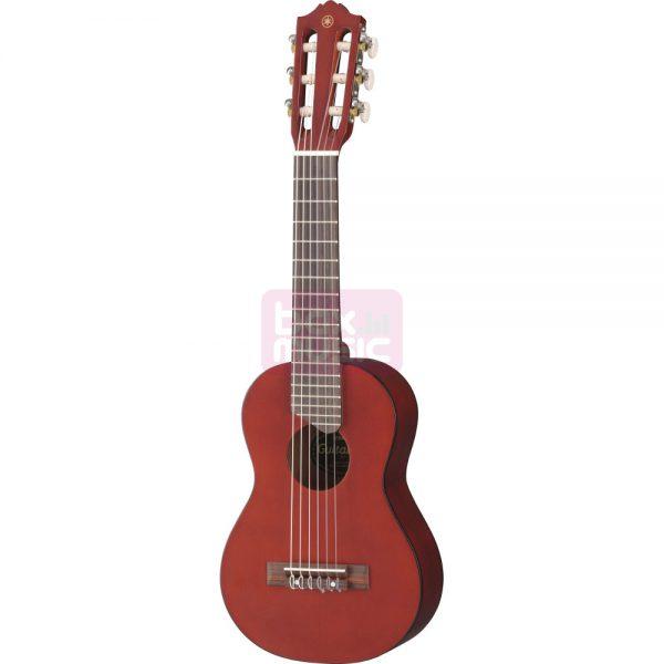 Yamaha GL1 PB Guitalele 6-snarige gitaar-ukelele Persimmon Brown