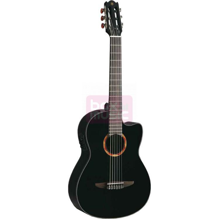 Yamaha NCX700BL elektrisch-akoestische klassieke gitaar zwart