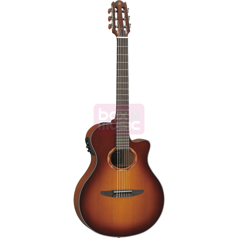 Yamaha NTX700C-BS elektrisch akoestische klassieke gitaar