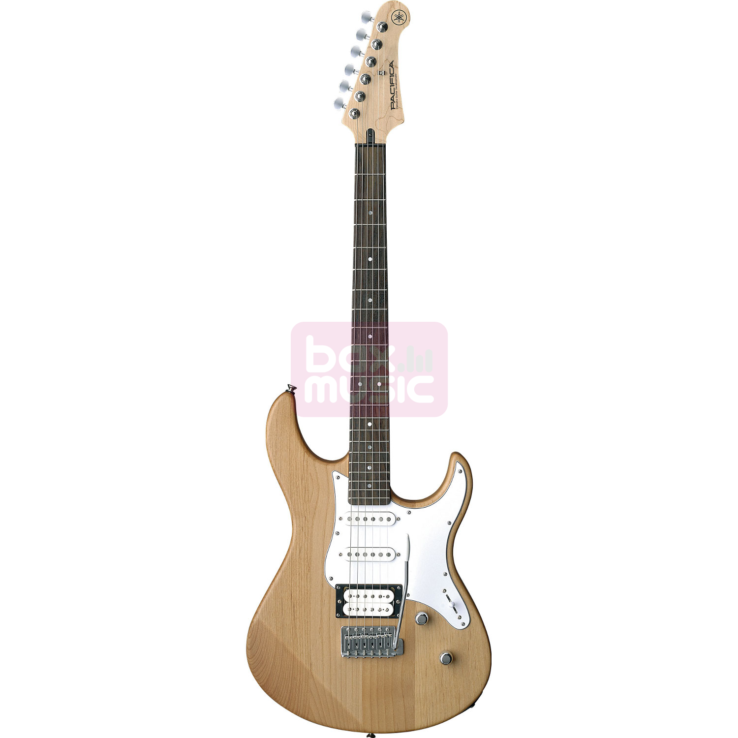Yamaha Pacifica 112V YNS elektrische gitaar Yellow Natural Satin