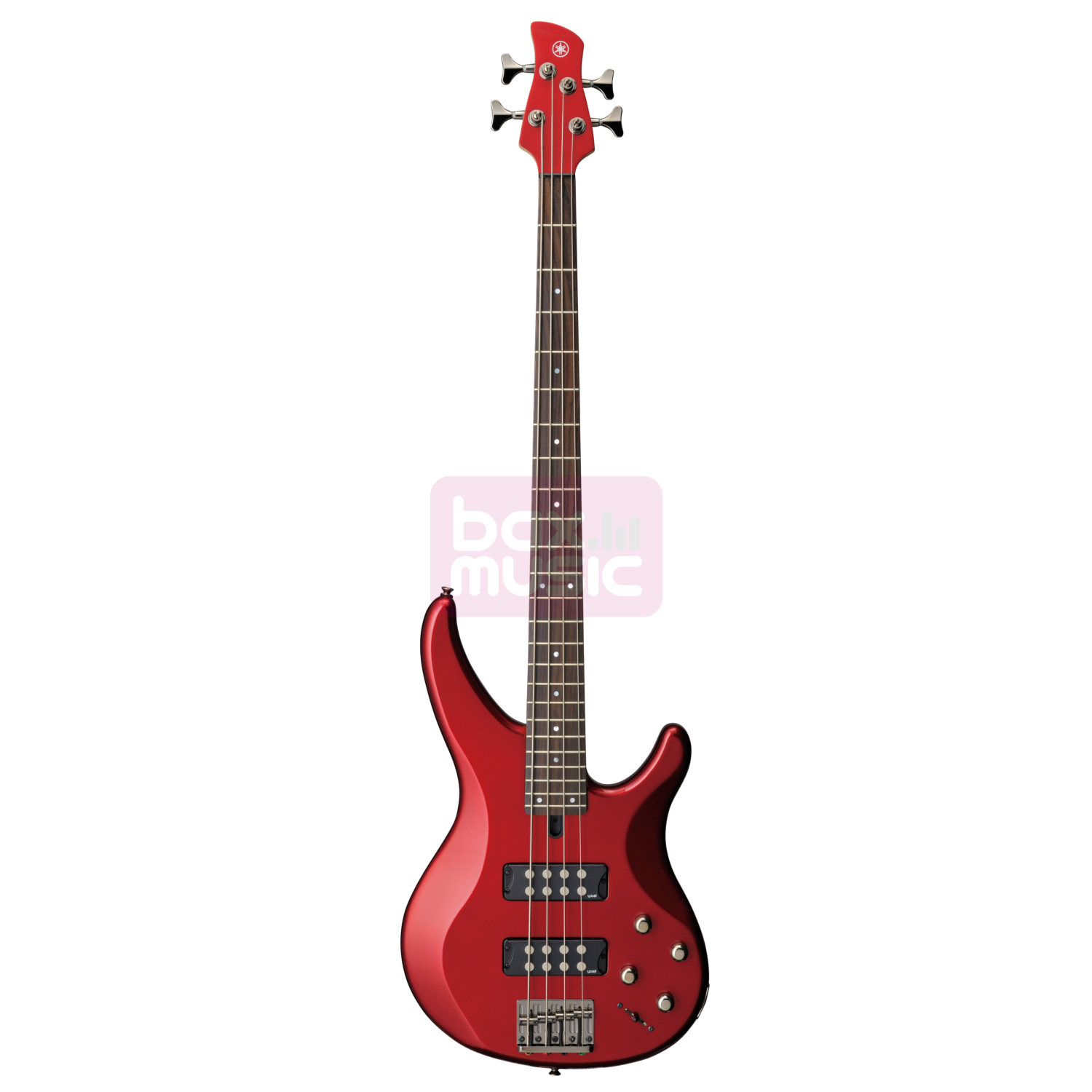Yamaha TRBX304 Candy Apple Red elektrische basgitaar
